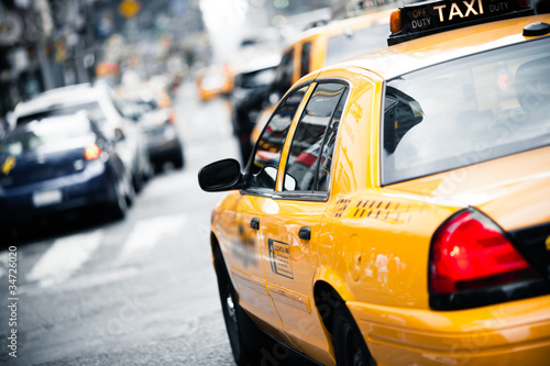 Fototapeten,taxi,new york,taxi,new york