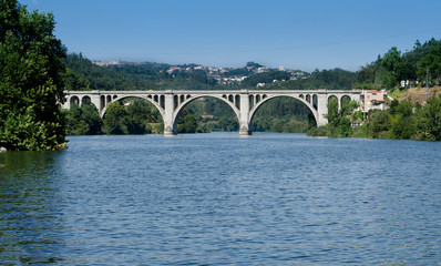 Ponte de Pedra, Entre-os-rios, Portugal