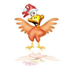 gallo di natale