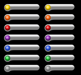 Light Interface buttons