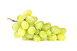White Grapes Isolated on White Background