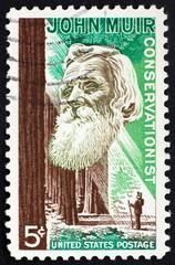 Postage stamp USA 1964 John Muir