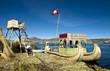 bateau urossur le lac titicaca