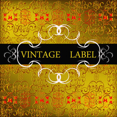 Decorative label