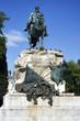 statue of general martinez campos.madrid