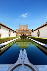 Nasridenpalast in der Alhambra, Granada, Spanien