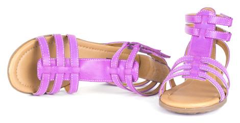 Pink children's maiden sandal