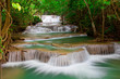 Deep forest Waterfall in Thailand - 34741800