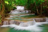 Głęboki las Wodospad w Tajlandii