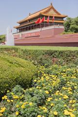 Tiananmen square gate