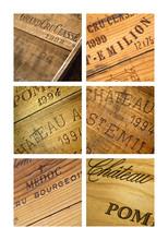 Wina skrzyni, zamek, vintage, bordowy, winnica, piwnica