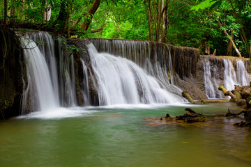 Waterfall in Deep forest ,Thailand