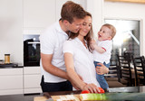 Healthy Family at Home