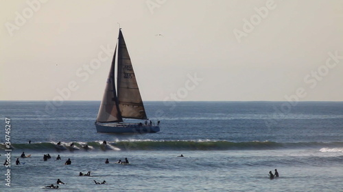 surfer group 04 - yacht and surfers