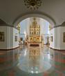 Inside Assumption Cathedral Yaroslavl