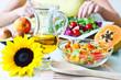 Salat - Zubereitung