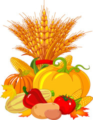 Thanksgiving / harvest design