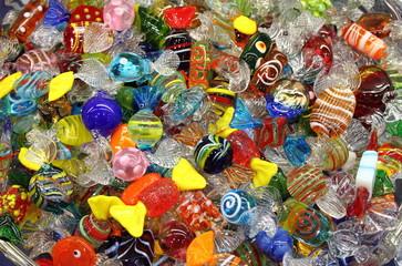 Venetian Murano glass sweets