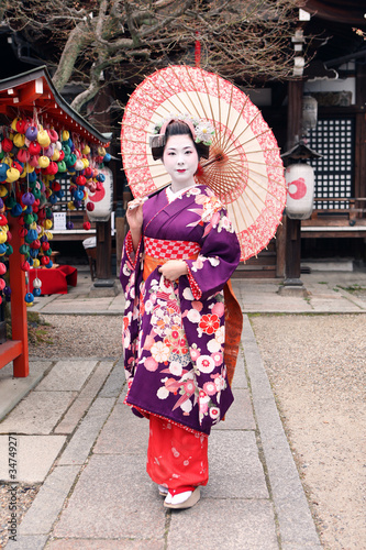 Geisha's body