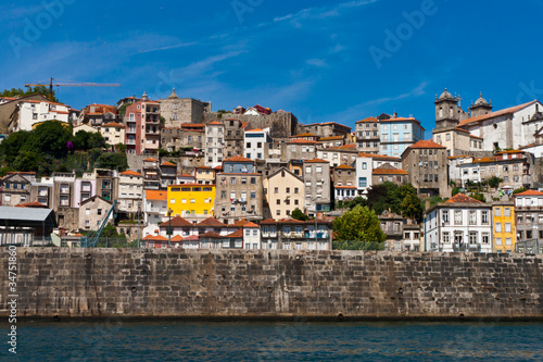 Porto Old Town River View