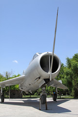 retired air force plane