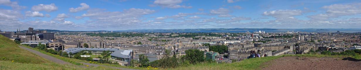 Panorama von Edinburgh