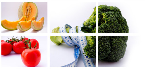 Broccoli and vegetables