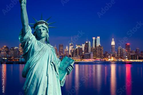 New York Manhattan statue de la Liberté