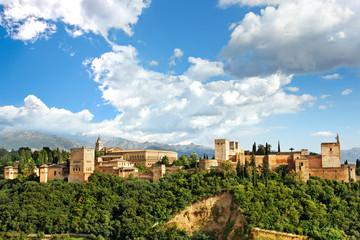 Blick auf Alhambra, Granada/Spanien