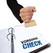 Vorsorge Check