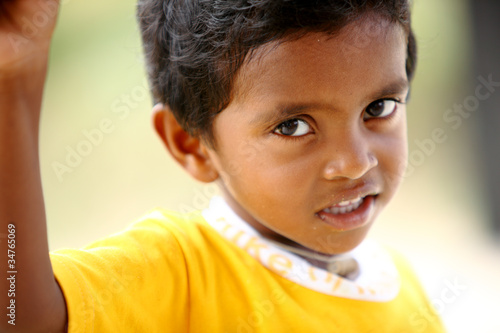 Cute Indian little boy