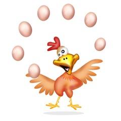 pollo giocoliere