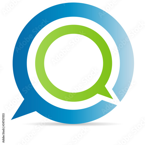 Q chat sign