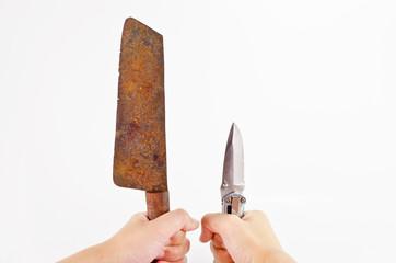 useless and useful knife