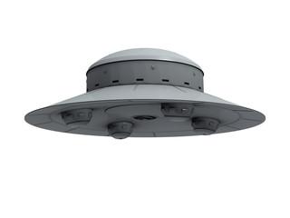 gray crude ufo