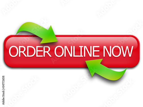 Order Online Now Button: www.fotolia.com/id/34772658