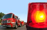 Fire department response poster