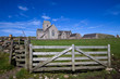 Iona Abbey in the Inner Hebrides of Scotland