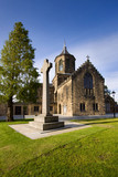 Falkirk old parish church in Falkirk, central Scotland. poster