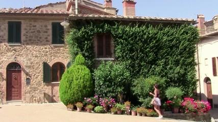 casa toscana e turista