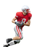 Football Player Isolated
