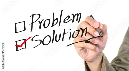writing the solution