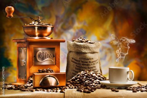 Fototapeta coffee for still life