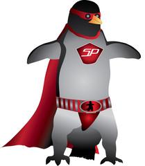 Penguin Super hero Character