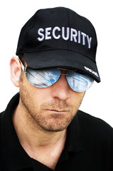 security man portrait
