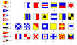 Flags of sailing