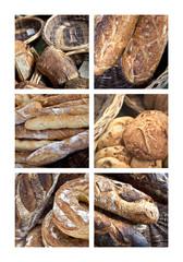 Pain, boulanger, boulangerie, farine, baguette