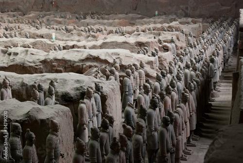Staande foto Xian Armée de terre cuite, Chine 15