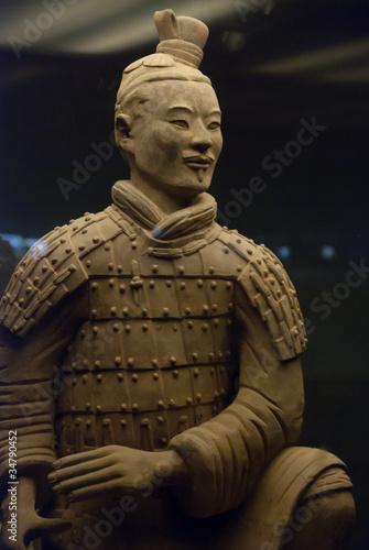 Deurstickers Xian Armée de terre cuite, Chine 22