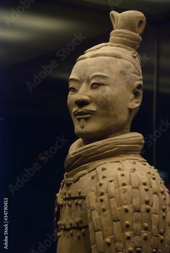 Deurstickers Xian Armée de terre cuite, Chine 23